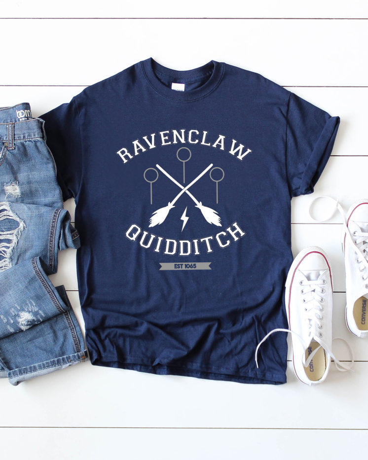 Ravenclaw-Quidditch-Shirt-and-Free-SVG-File