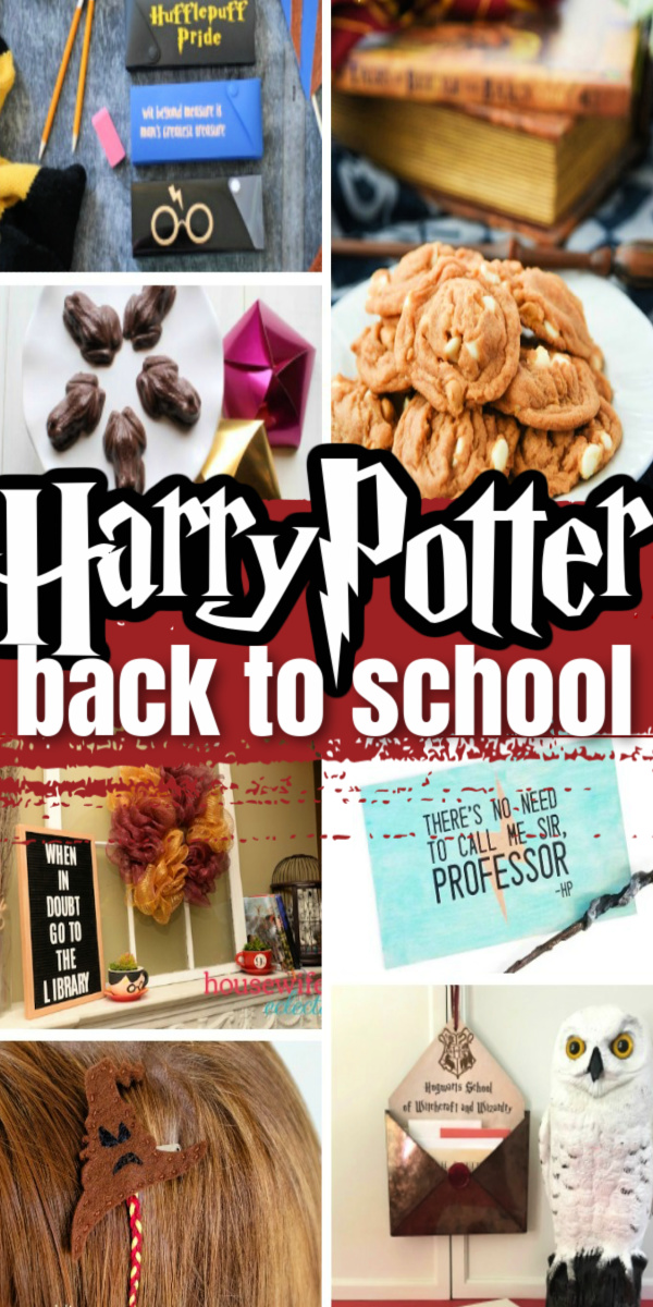 Awesome back to school harry potter ideas, crafts, and recipes
