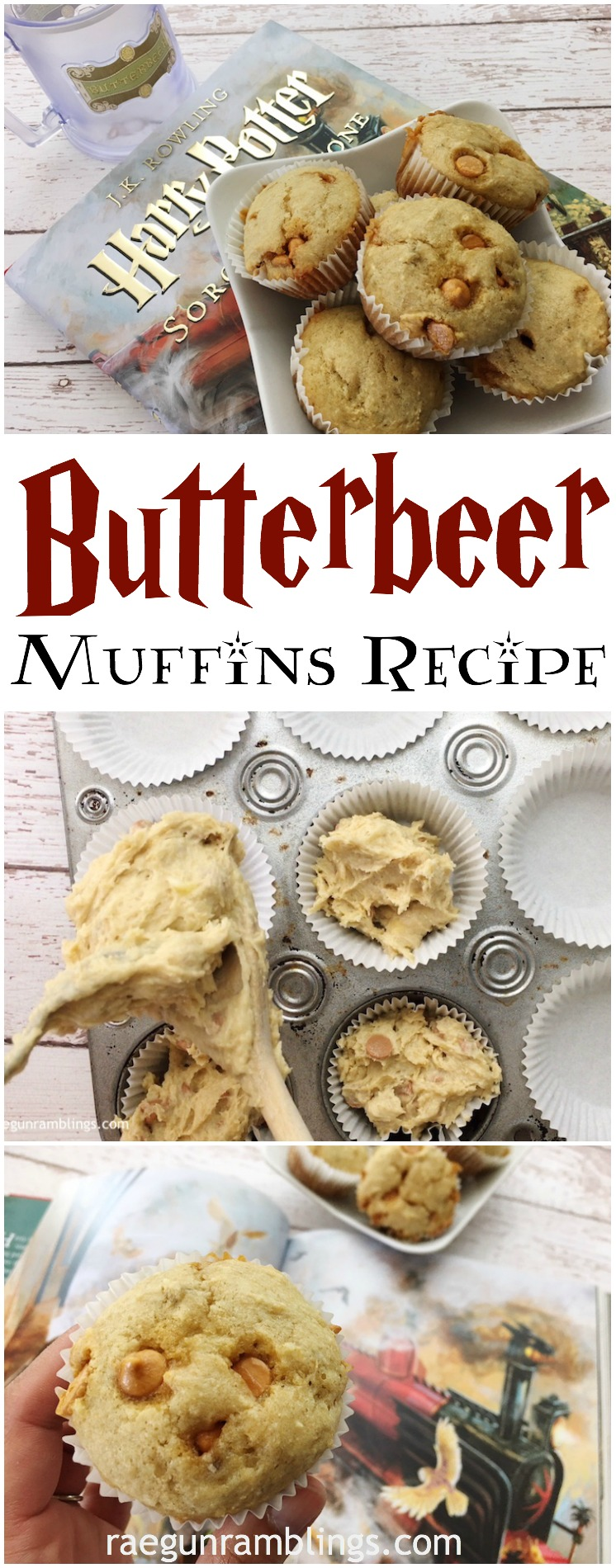drooling over these banana butterbeer muffins. just made the recipe and will be making tons more