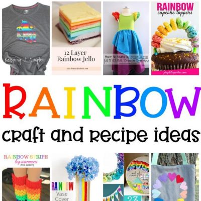 Rainbow Crafts Recipes Ideas