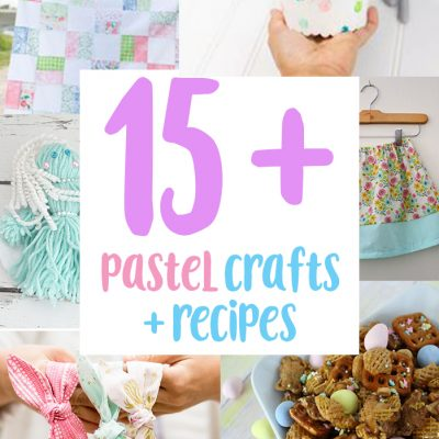 Perfect Pastel Crafts Recipes and Block Party
