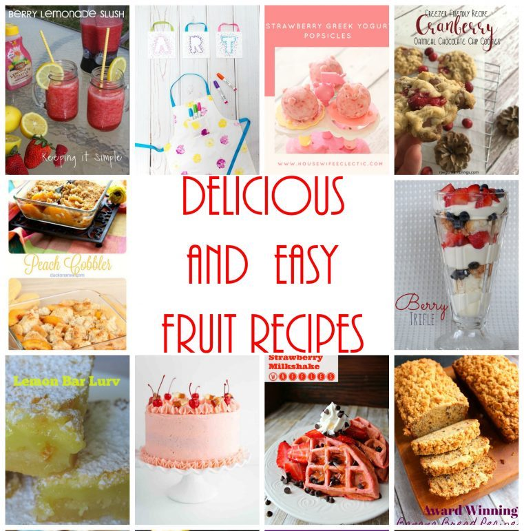 Delicious-and-easy-fruit-recipes to make