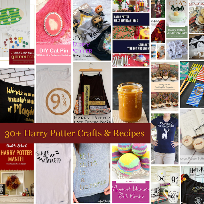 Harry-Potter-Ideas recipes and crafts