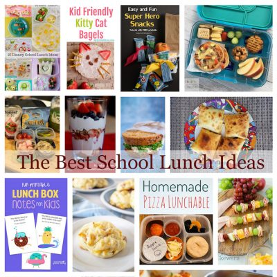 School Lunch Ideas and Block Party