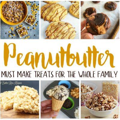 Tasty Treats Peanut Butter Recipes