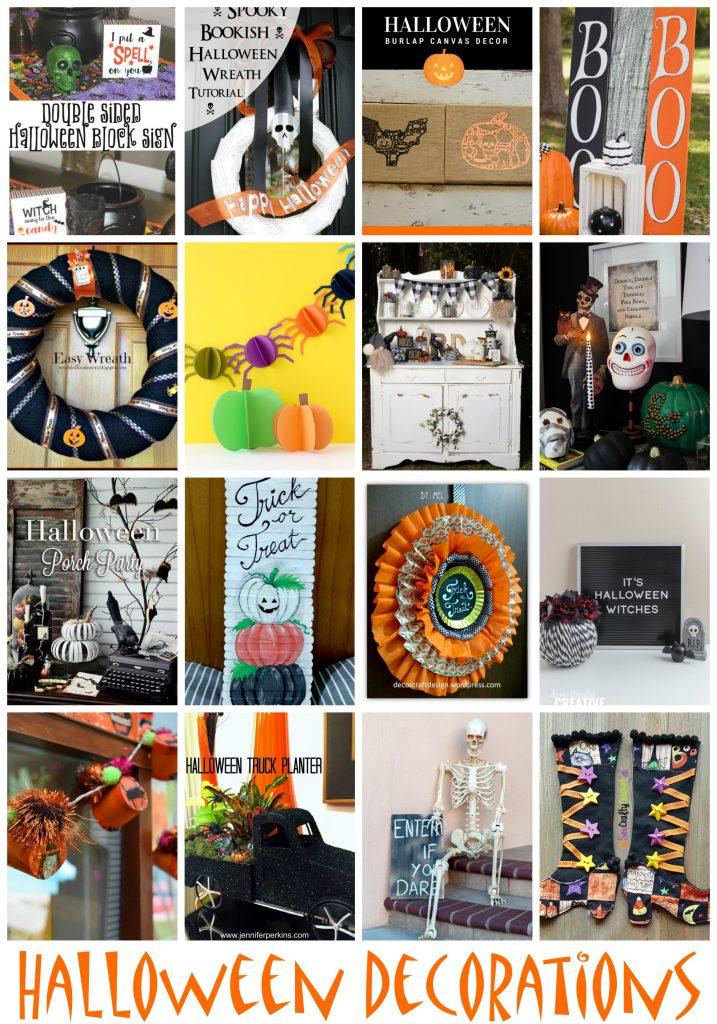 Hallowen Decoration Ideas and Tutorials