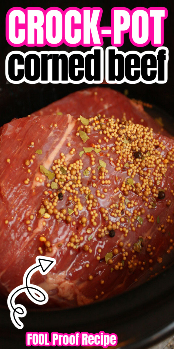 My go to way to make Corned Beef. I never new it was so easy! Perfect every time. Great crock pot recipe.