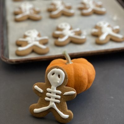 Halloween Cookie Recipe Skeleton Gingerbread