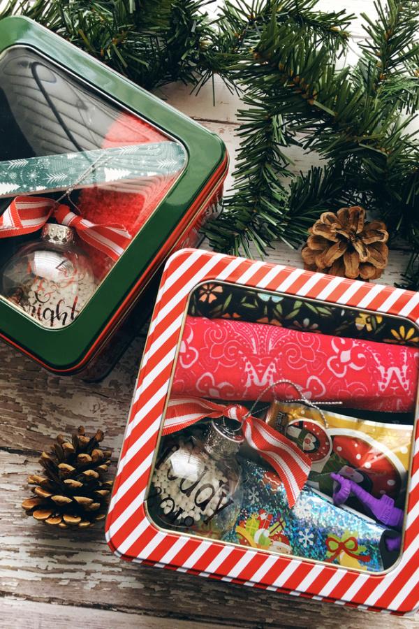 cute ornament teacher gift boxes