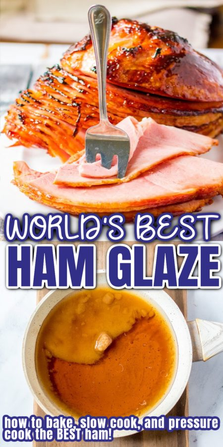 baked ham and brown sugar glaze for ham