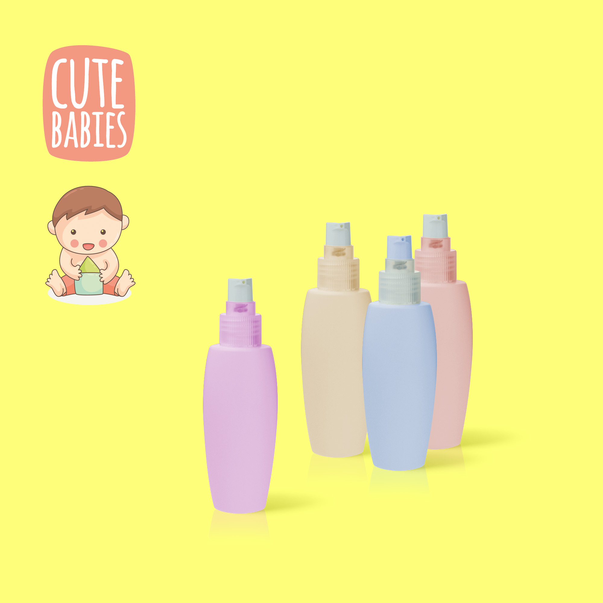 baby lotion bottles
