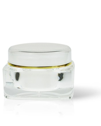 Acrylic Jar - Double Wall Square 125ml AJ-13-14-125