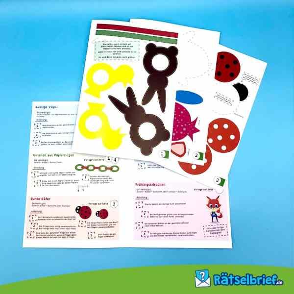Bastelbox Frühling für Kinder