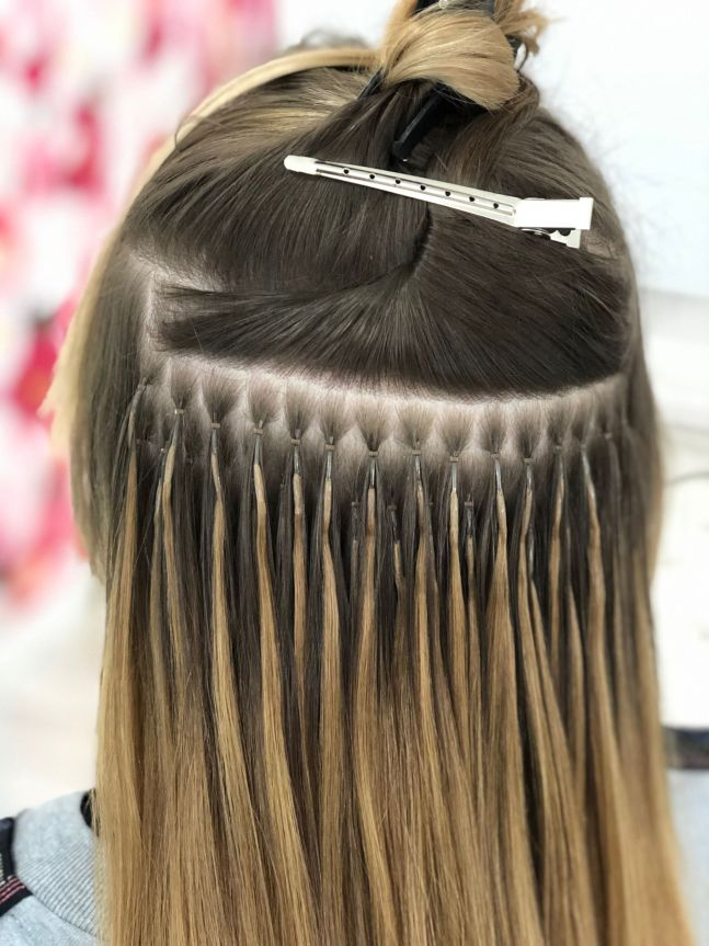 Extended Lengths Essex Nano Ring hair extensions