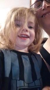 Littlerbit happy and hale in spite of misadventure