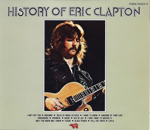 1972 History Of Eric Clapton