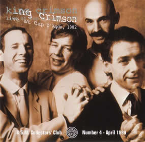 1999 Live at Cap D'Agde 1982