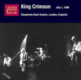 2006 Shepherd's Bush Empire London England – July 01 1996