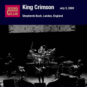 2009 Shepherd's Bush Empire London England – July 03 2000
