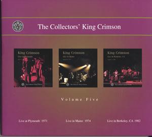2001 The Collectors' King Crimson Volume Five