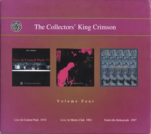 2001 The Collectors' King Crimson Volume Four
