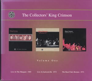 1999 The Collectors' King Crimson Volume One