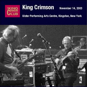 2006 Ulster Performing Arts Centre Kingston New York – November 14 2003