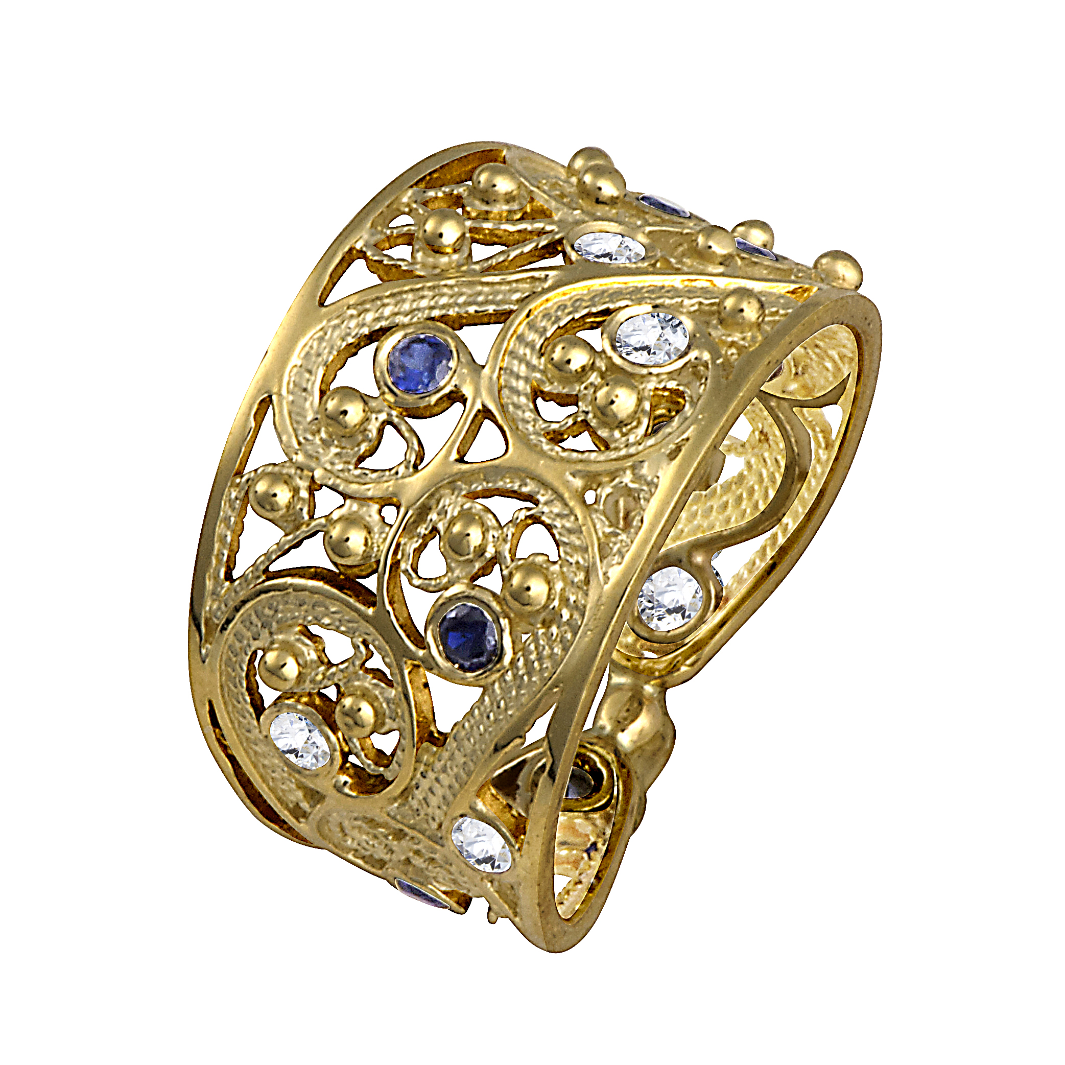 nalu pendant tagged with gold shop blue hawaiian collections jewelry sapphire yellow online golden in waves