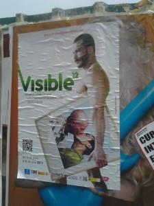 Cartel del Orgullo Gay en Madrid: fijaos en la imagen subliminal del marica embarazado ¡que pare dos gays!