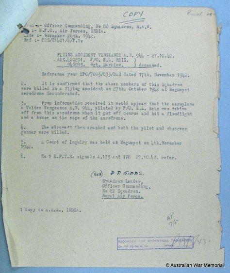 1942-11-REis-Letter