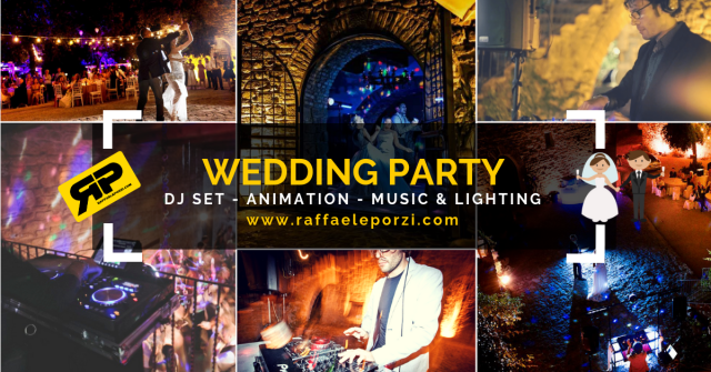 Wedding Party – DJ set – Animation, AUDIO & LIGHTING