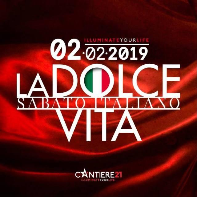 ★ CANTIERE 21 ★ Presenta: SABATO ITALIANO • La dolce vita • Raffaele Porzi DJ