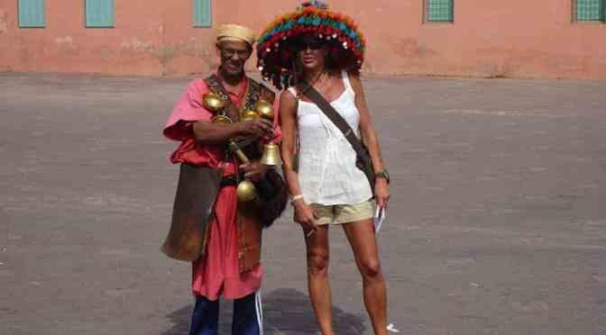 Marrakech, la rossa