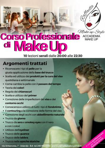 Corso Professionale Make Up