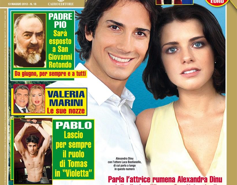 DIPIU' n. 18/2013 – La compagna di Brando Giorgi scrive: Mio caro Brando, dopo quindici anni insieme, perché non mi vuoi sposare?
