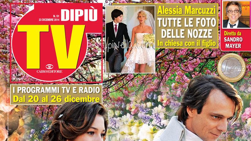 """DIPIU' TV n. 51/2014 – Alessandro Preziosi: Sul set de """"La bella e la bestia"""" ho avuto paura"""