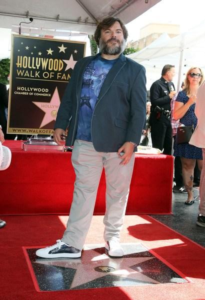 """Jack Black ha la sua Stella sulla Walk of Fame: """"Vi amo tutti, tranne Trump"""""""