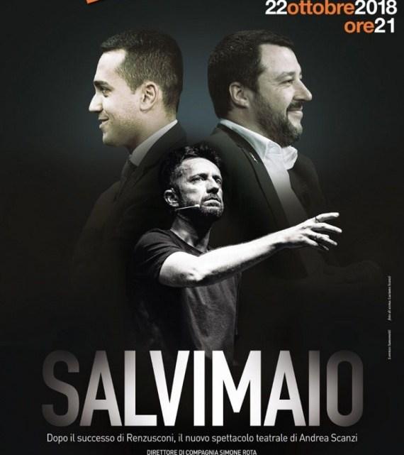 SALVIMAIO il nuovo spettacolo teatrale di e con Andrea Scanzi