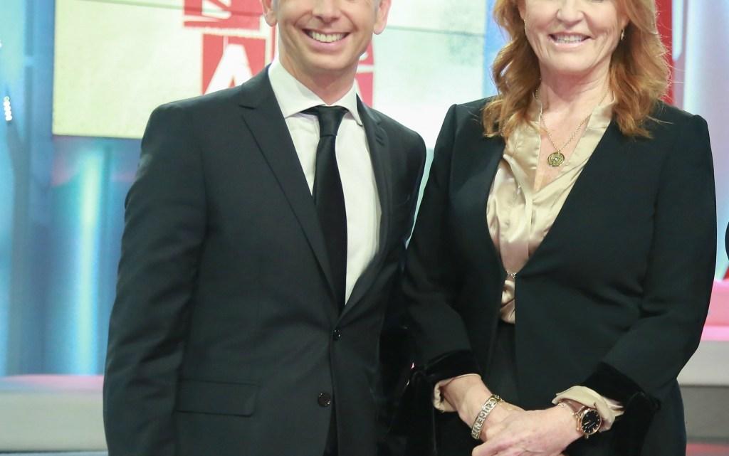 Sarah Ferguson e Gianluca Mech, insieme per promuovere uno stile di vita sano