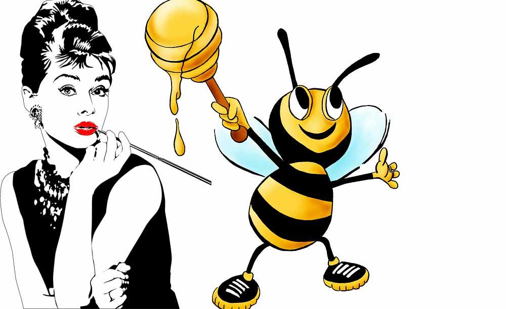 Labbra carnose? Proviamo con il miele!