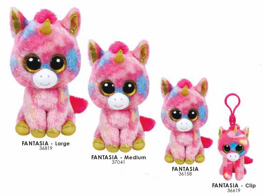 Fantasia Small Beanie Boo Raff And Friends