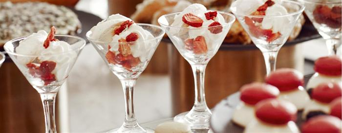 Azur Dessert Glasses