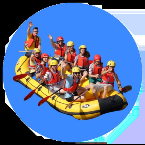 Rafting s inštruktorom