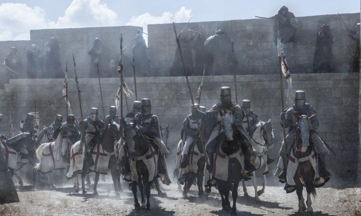 noul serial Knightfall, serialul Knightfall, seriale noi, Knightfall, seriale