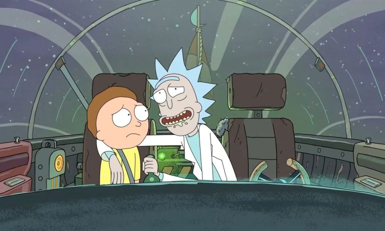 Rick and Morty, Comedy Central, seriale