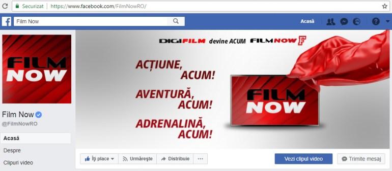 Digi Film devine Film Now, Digi Film, Film Now, RCS&RDS