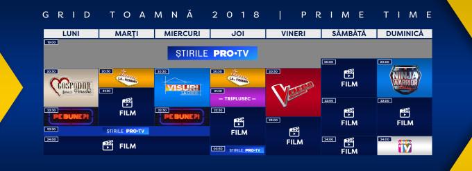 grila de toamnă PRO TV 2018, grila de toamnă la PRO TV, grilă de toamnă PRO TV, grilă de toamnă 2018, grila de toamnă, grila PRO TV, PRO TV 2018