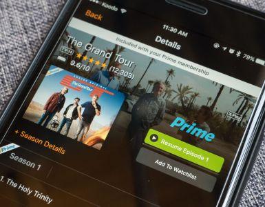 Amazon Prime Video, Amazon Prime Video în luna octombrie 2018