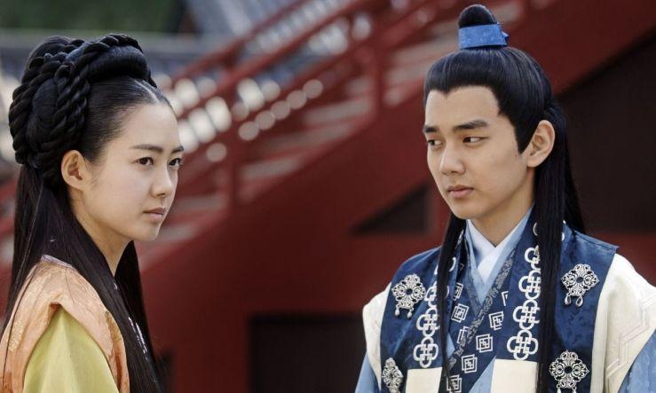 Secretele de la palat, seriale coreene, TVR 1