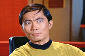 Image result for star trek 1966 scotty and sulu